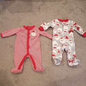 Carter's Christmas Playsuits